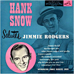 Cover image of Salutes Jimmie Rodgers