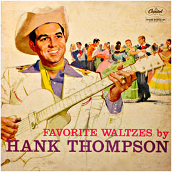 Cover image of Favorite Waltzes By Hank Thompson