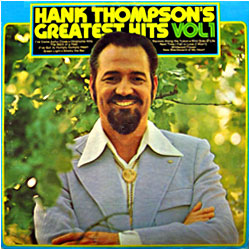Cover image of Hank Thompson's Greatest Hits 1
