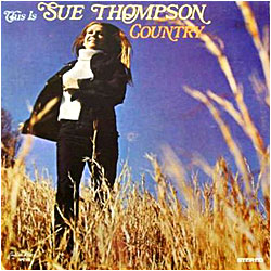 Cover image of This Is Sue Thompson Country