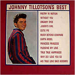 Cover image of Johnny Tillotson's Best