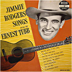 Cover image of Jimmie Rodgers' Songs