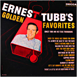 Cover image of Ernest Tubb's Golden Favorites