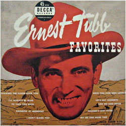 Cover image of Ernest Tubb Favorites