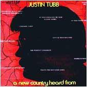 Cover image of A New Country Heard From Justin Tubb