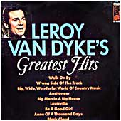 Cover image of Leroy Van Dyke's Greatest Hits