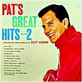 Cover image of Pat's Great Hits Vol 2