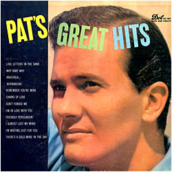 Cover image of Pat's Great Hits