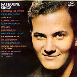 Cover image of Pat Boone Sings