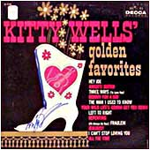 Cover image of Kitty Wells' Golden Favorites