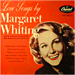 Love Songs By Margaret Whiting - image of cover