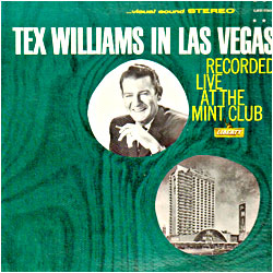 Cover image of Tex Williams In Las Vegas