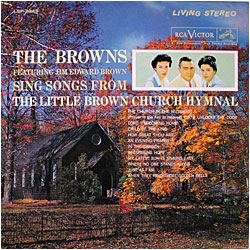 Cover image of Songs From The Little Brown Church Hymnal