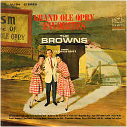 Cover image of Grand Ole Opry Favorites
