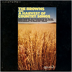 Cover image of A Harvest Of Country Songs