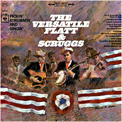 The Versatile Flatt & Scruggs - image of cover