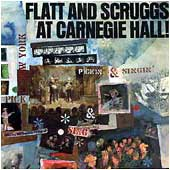 Cover image of Flatt & Scruggs At Carnegie Hall