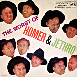 Cover image of The Worst Of Homer And Jethro