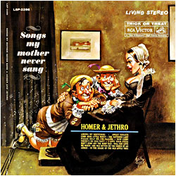 Cover image of Songs My Mother Never Sang