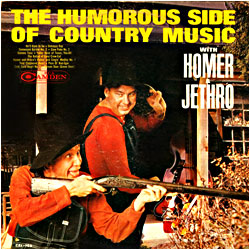 Cover image of The Humorous Side Of Country Music