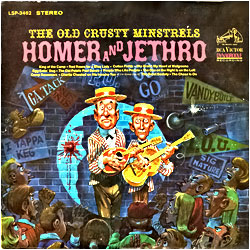 Cover image of The Old Crusty Minstrels