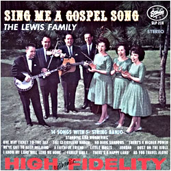 Cover image of Sing Me A Gospel Song