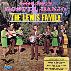 Cover image of Golden Gospel Banjo