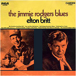 Cover image of The Jimmie Rodgers Blues