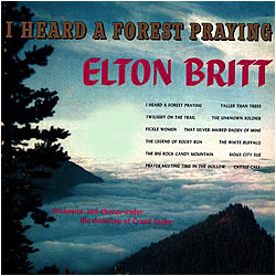 Cover image of I Heard A Forest Praying