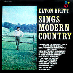 Cover image of Sings Modern Country