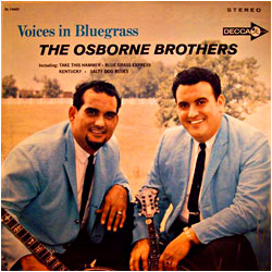 Cover image of Voices In Bluegrass