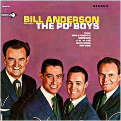 Cover image of Bill Anderson Presents The Po' Boys