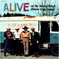 Cover image of Alive At The Johnny Mack Brown High School