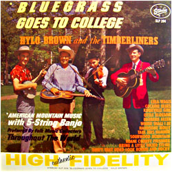 Cover image of Bluegrass Goes To College