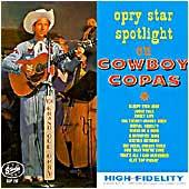 Cover image of Opry Star Spotlight On Cowboy Copas