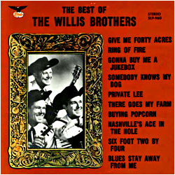 Cover image of The Best Of The Willis Brothers