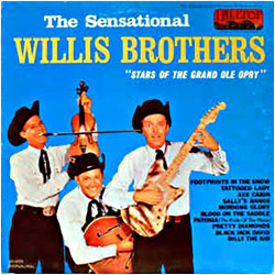 Cover image of The Sensational Willis Brothers
