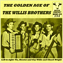 Cover image of The Golden Age Of The Willis Brothers