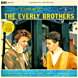Cover image of A Date With The Everly Brothers