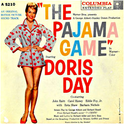 Cover image of The Pajama Game