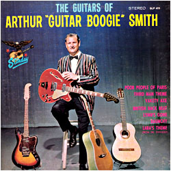 Cover image of The Guitars Of Arthur Guitar Boogie Smith
