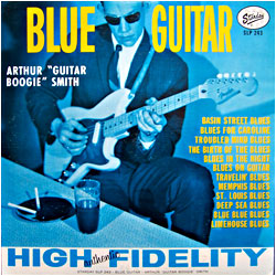 Cover image of Blue Guitar