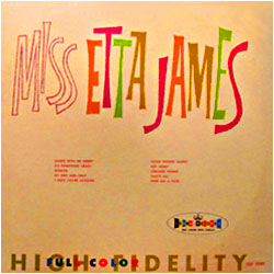 Cover image of Miss Etta James