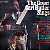 Cover image of The Great Carl Butler Sings