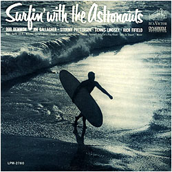 Cover image of Surfin' With The Astronauts