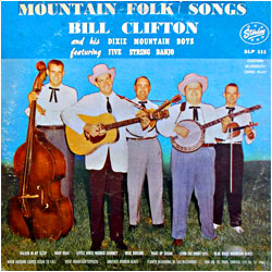 Cover image of Mountain Folk Songs