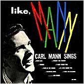 Cover image of Carl Mann Sings Like Mann