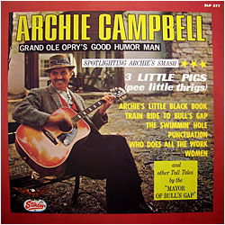 Archie campbell little black book lyrics