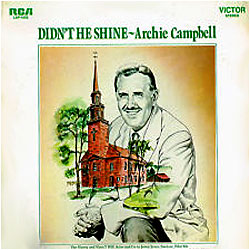 Image of random cover of Archie Campbell