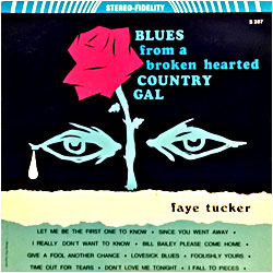 Cover image of Blues From A Broken Hearted Country Gal